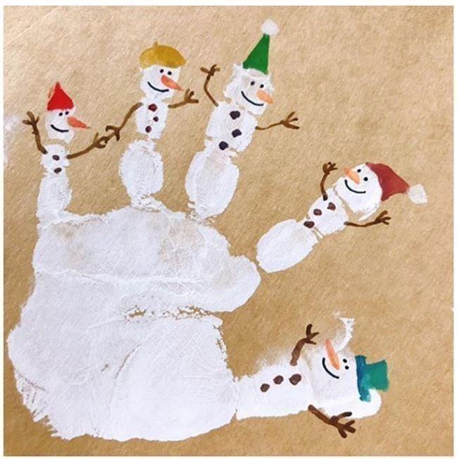手形アート☆ぺったん - 手形でクリスマス ...