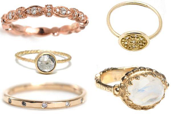 unique wedding rings.: Bespoke Bridal, Unique Wedding Rings, Wedding Ideas, Unique Rings, Fashion Rings, Gold Rings, Bridal Fashion, Golden Rings, Unusual Engagement Rings