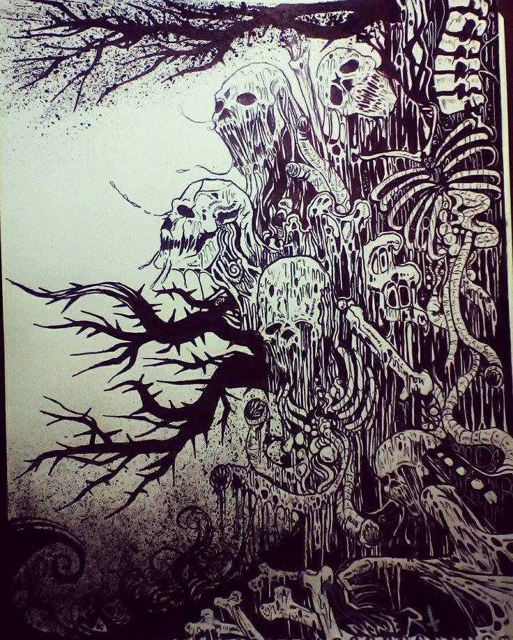 El árbol de la muerte By NOWER HB7