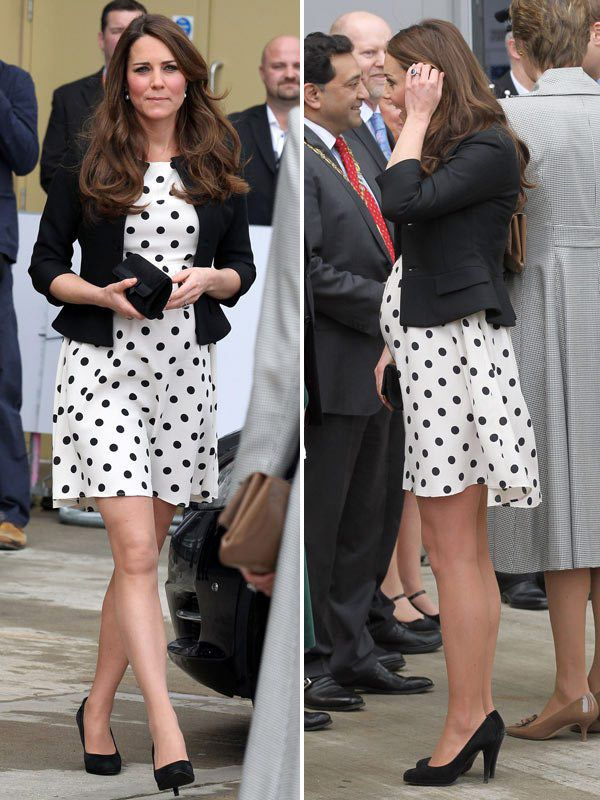 Os looks de grávida de Kate Middleton - Constance Zahn