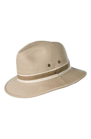 Stetson 'Durango' Cotton Safari Hat