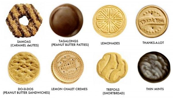 Girl scout cookie inspired recipes