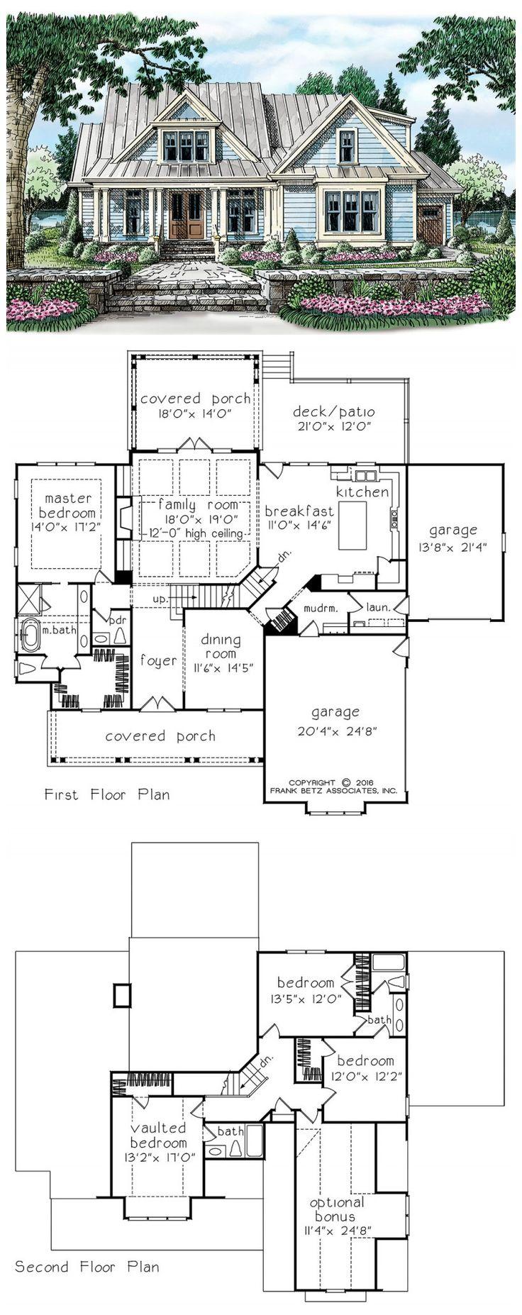 Betz house plans with large kitchen frank house plans designs ideas - Frank Betz Has An Available Floor Plan Entitled Ansonborough House Floor Plan