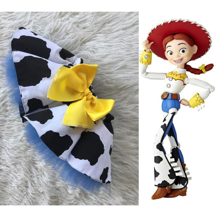 """""""Custom Jessie from toy story tulle skirt."""""""