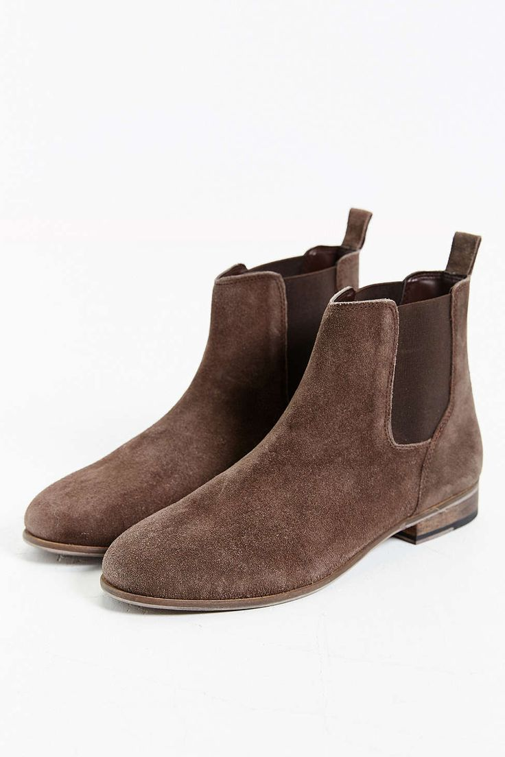 Hawkings McGill Suede Chelsea Boot size 9