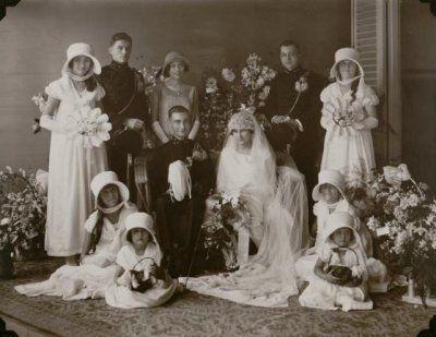 European bruitlof en Koetaradja. Pernikahan Eropa di KoetaRadja (Sekarang Banda Aceh). 1923-1929