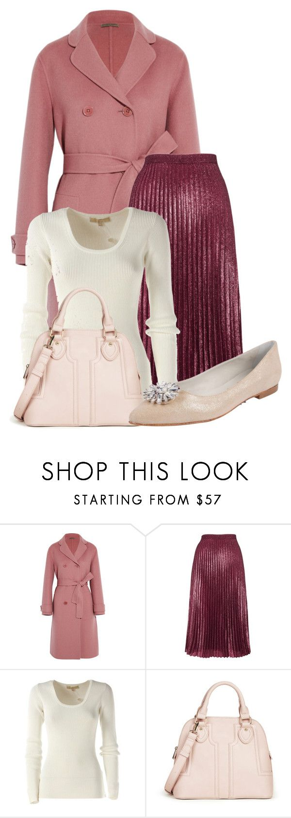 """""""Untitled #22631"""" by nanette-253 ❤ liked on Polyvore featuring Bottega Veneta, Whistles, Michael Kors, Sole Society and Butter Shoes"""