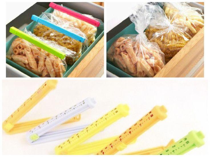 Используйте зажимы для пакетов,  обеспечьте сохранность продуктов в том числе и от насекомых. С их помощью вы надежно и герметично перекроете доступ воздуха в  пакеты с детской кашей, крупами, макаронами, смесью, печеньем.  http://zacaz.ru/products/dom-byt-kuhnya/dlya-kuhni/zazhimy-dlya-paketov-5-sht/
