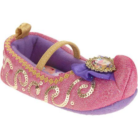 Shimmer And Shine Slippers, Size: 5 to 6, Pink