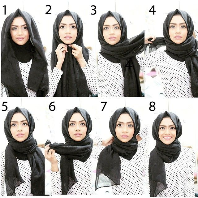 As requested by all of you, here's my everyday Hijab style :) super quick and easy.  barely takes one minute to do  Ignore my weird facial expressions  #hijabstyle #hijabfashion #tutorial #simple #elegant