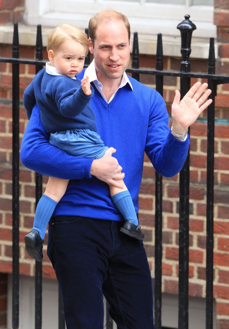 Prince George became an older brother this morning when Catherine, Duchess of Cambridge, gave birth to her second child.