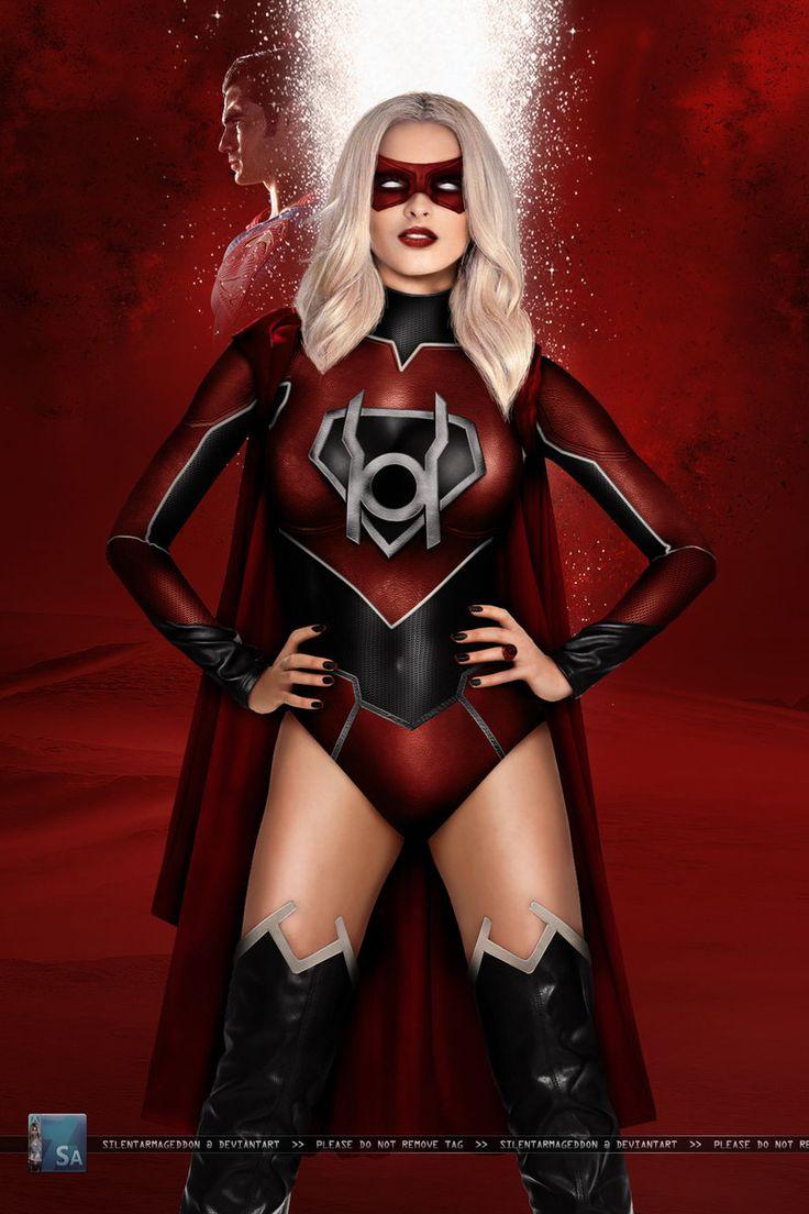 Supergirl: Red Lantern by SilentArmageddon.deviantart.com on @DeviantArt