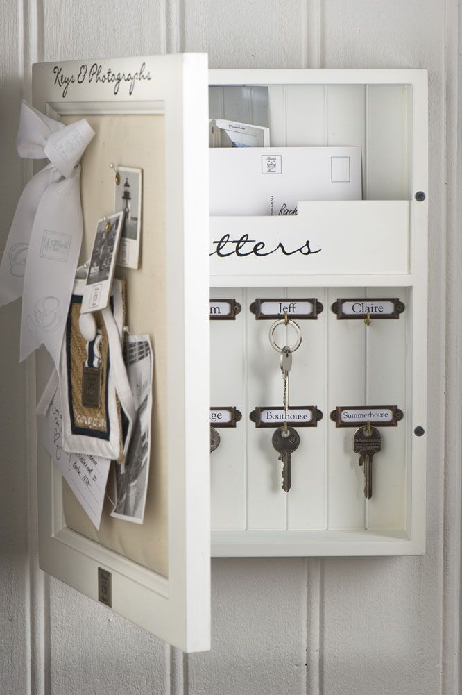 Keys And Photographs Cabinet. Dimensions (in cm): : 30 x 40 x 7.5 (Length / Height / Width (Depth))
