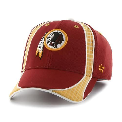 Men's Adjustable Washington Redskins Hat Clu MVP Cap