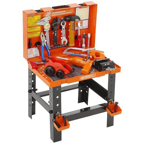 The Home Depot Carrying Case Workbench Toy Workbench