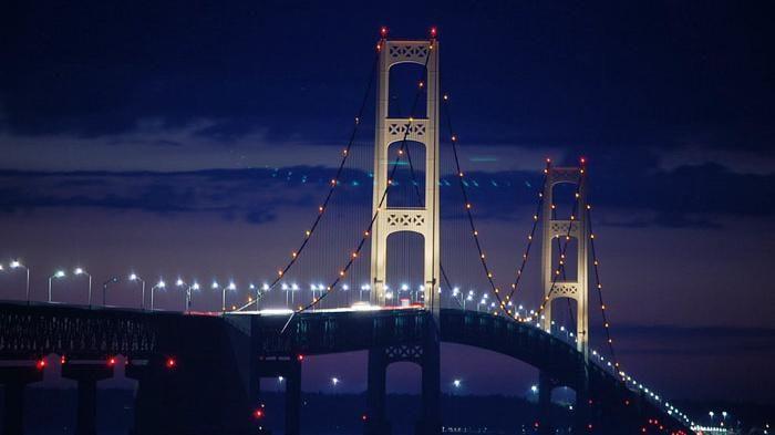 Mackinac Bridge, Mackinac, Mich