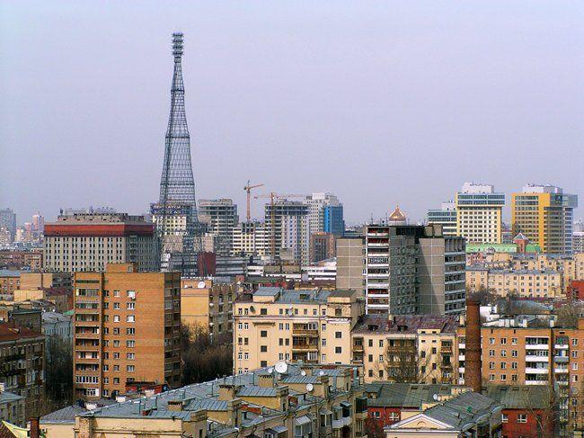 Башня Шухова в Москве