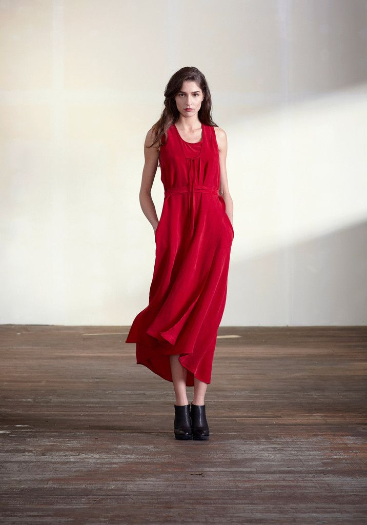 Bookends Dress (Red) | Feral Childe