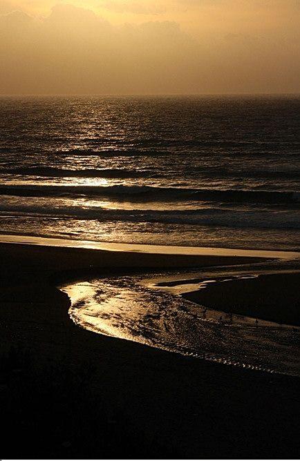 sunset, serenty, nature, silence, harmony
