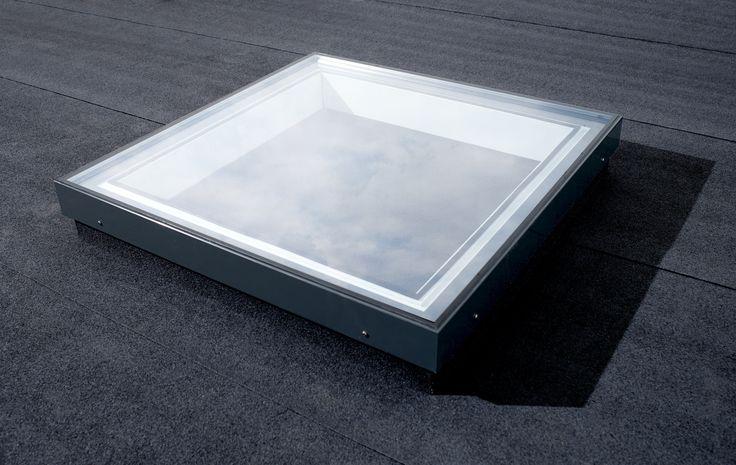 Flachdachfenster | Oberlicht Festverglast