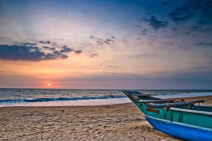 Sunset on Kosgoda Beach | Best reasons to leave your resort in #Ahungalla #SriLanka | Weather2Travel.com #travel #holiday #sunshine