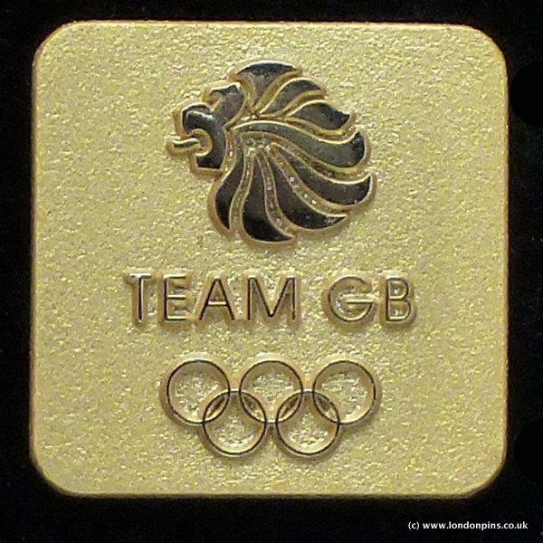 London 2012 Olympic Games Team GB pin badges
