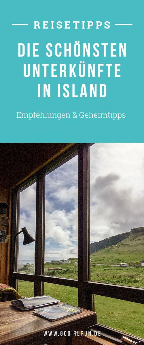 Übernachten ins Island: Empfehlenswerte Hotels, Bed and Breakfasts, Zeltplätze und Hostels in Island. Mit meine Übernachtungstipps wird Deine Reise unvergesslich.