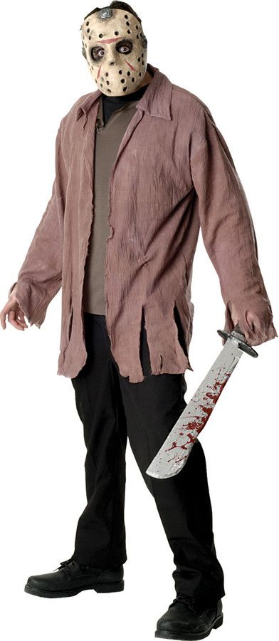 JASON ADULT COSTUME STD