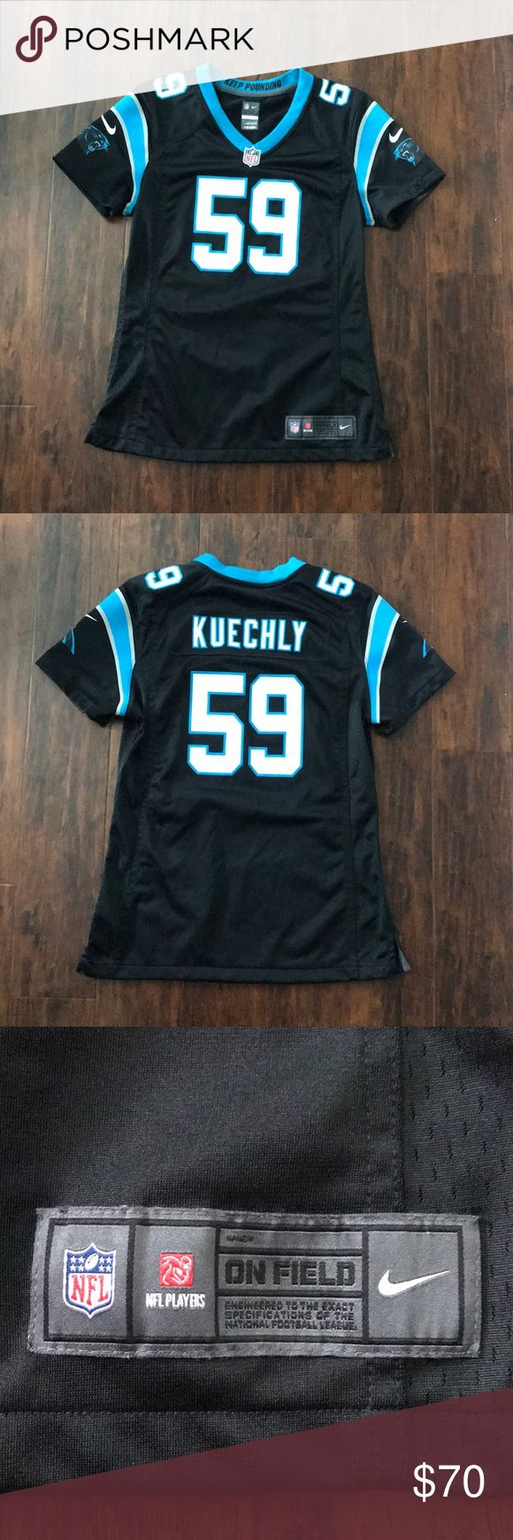 BOGO 1/2 OFF Carolina Panthers Luke Kuechly Jersey Brand new, never worn, official Nike jersey, perfect condition ✨make an offer!✨ feel free to comment if you have any questions 😊‼️ALL LISTINGS BUY ONE GET ONE HALF OFF W/ DISCOUNTED SHIPPING❗️(of the two items, the less expensive item will be half off) just make a bundle and I'll re-price‼️ Nike Tops