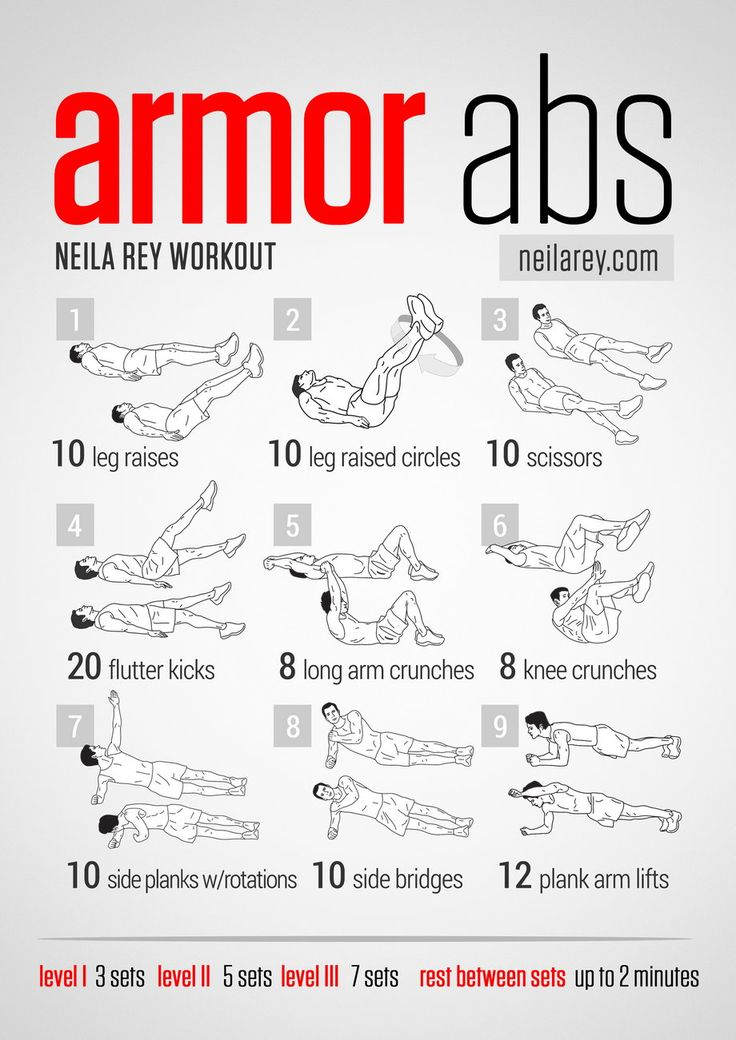 Armor Abs Workout, looks killing on the lower abs and entire core!