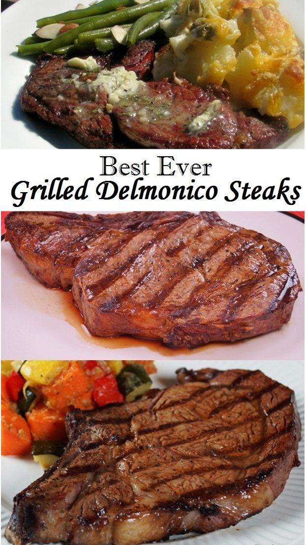 Best Ever Grilled Delmonico Steaks Recipe Sirloin Steak