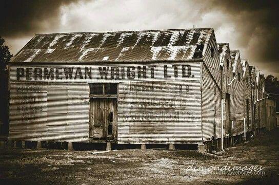 PW's store sheds, Hamilton Victoria Australia.
