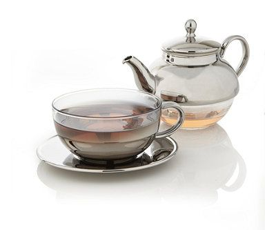 Tea for one tea set teavana mugs tea cups more pinterest tea sets products and glasses - Teavana glass teapot ...