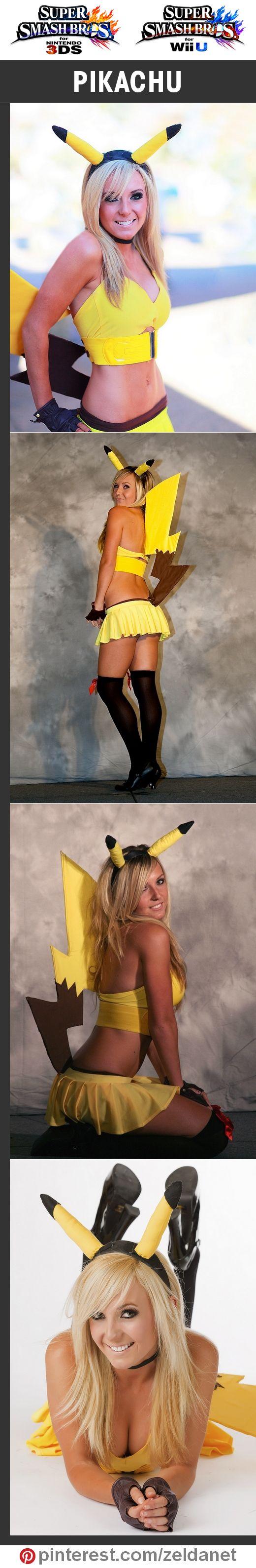Pikachu by @nigriplease in Super Smash Bros cosplay series   #Nintendo #3DS #WiiU #Pokemon http://www.pinterest.com/zeldanet/super-smash-bros-cosplay-series/