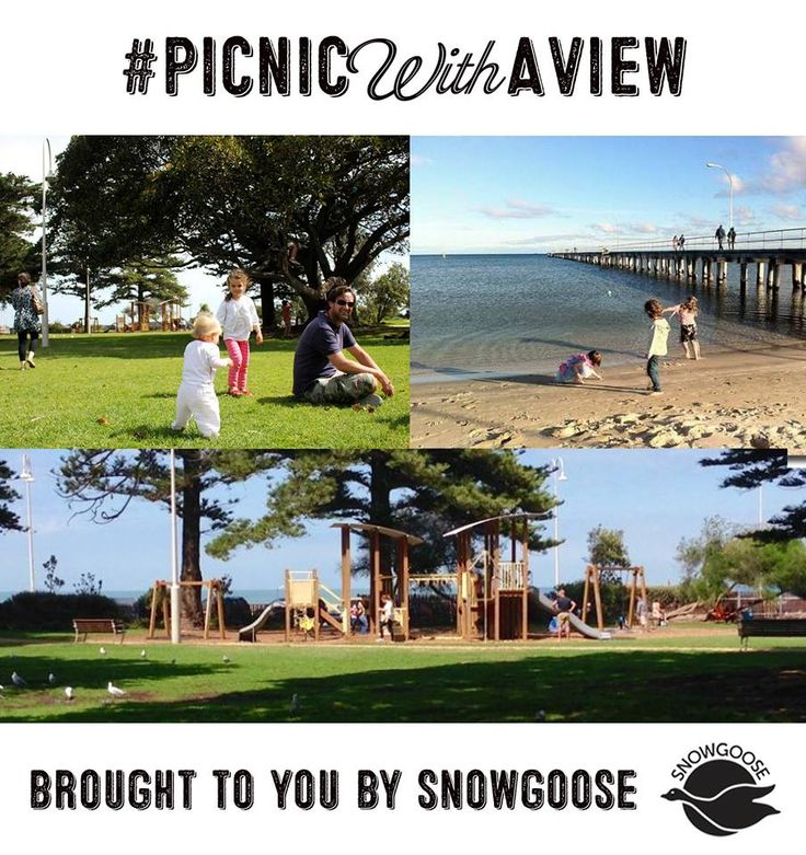 A beautiful spot overlooking Altona Beach, Melbourne, fantastic playground and an abundance of natural shade and open spaces for some quality picnic and park time. #LoganReserveAltona #MelbournesBestPicnicSpots #Picnics #SnowgooseHampers