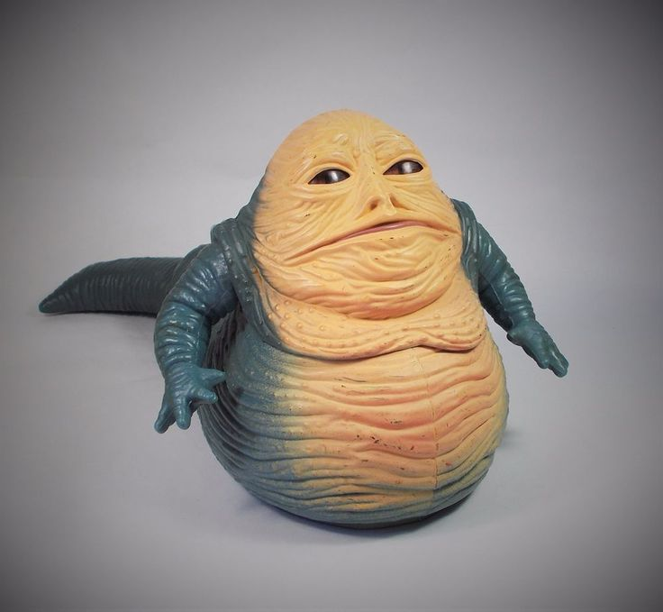 Star Wars - Jabba the Hut - Action Figure - Kenner 1997 - 4