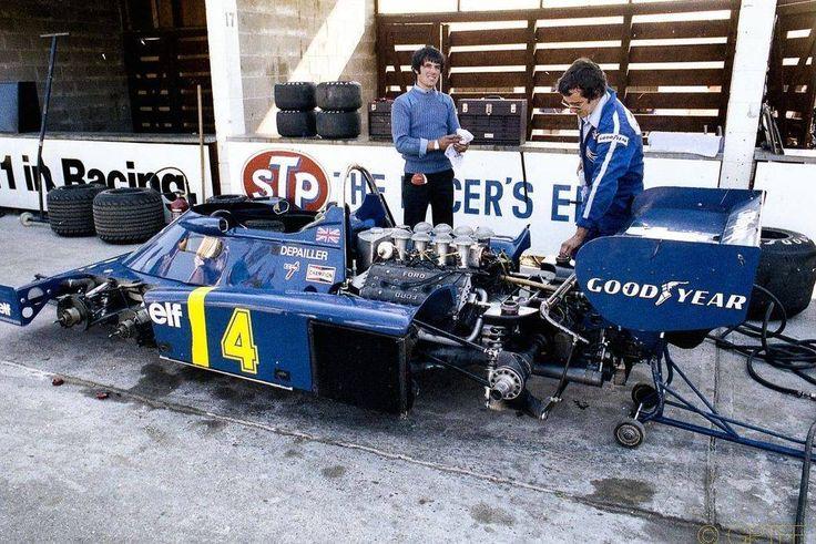 Patrick Depailler (Tyrrell P34 Cosworth) Grand Prix du Canada - Mosport 1976 - F1 History & Legends..