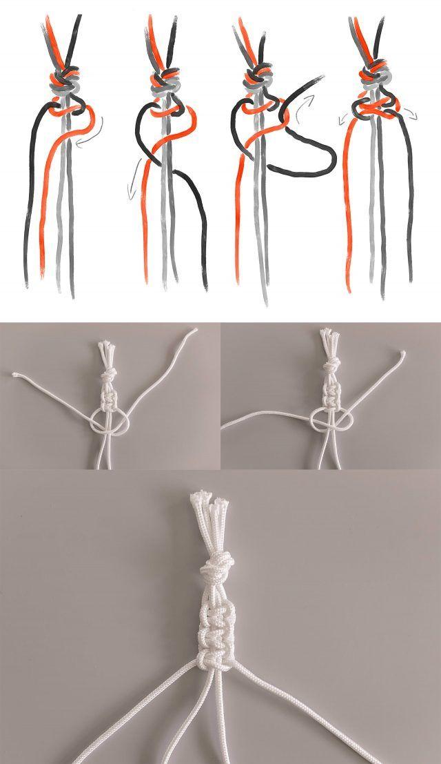 Makramee selber machen? So knotet man Blumenampel, Wandbehang & Co