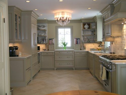 Olive green base/ khaki glaze custom: Kitchens Photo, Kitchens Design, Cabinets Colors, Lights Fixtures, Floors, Traditional Kitchens, Kitchens Ideas, Wangenheim Akbd, Kitchens Cabinets