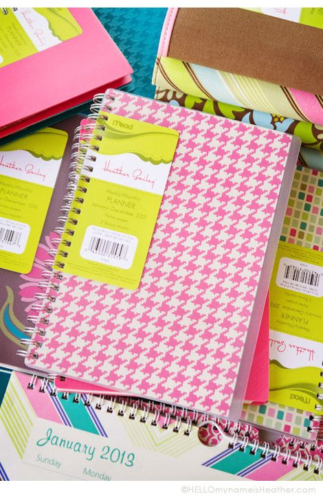 Mead_HeatherBailey_Planners at Target!!  Must have.