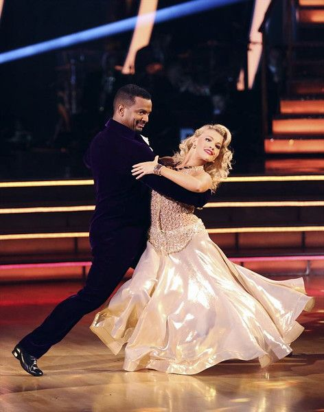 "Wk3 Alfonso & Witney danced Quickstep to ""Hey Goldmember"" by Beyonce"