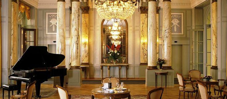 Bellevue Palace 5 Star Hotel, Bern, City of Flowers