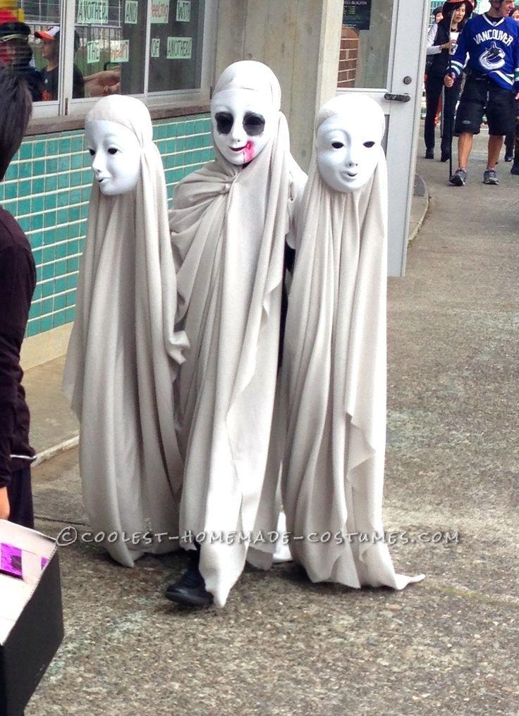 Creepy Ghosts Illusion Costume... Coolest Halloween Costume Contest