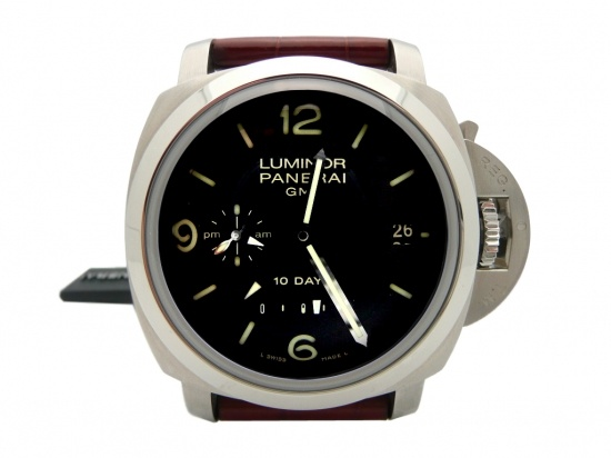 Panerai 270 Luminor 1950 GMT 10 Days Automatic Stainless Steel 44mm  http://www.collectionoftime.com/specification.php?wid=86=16