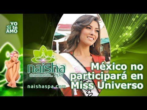 Nuestra Belleza México no participará en Miss Universo
