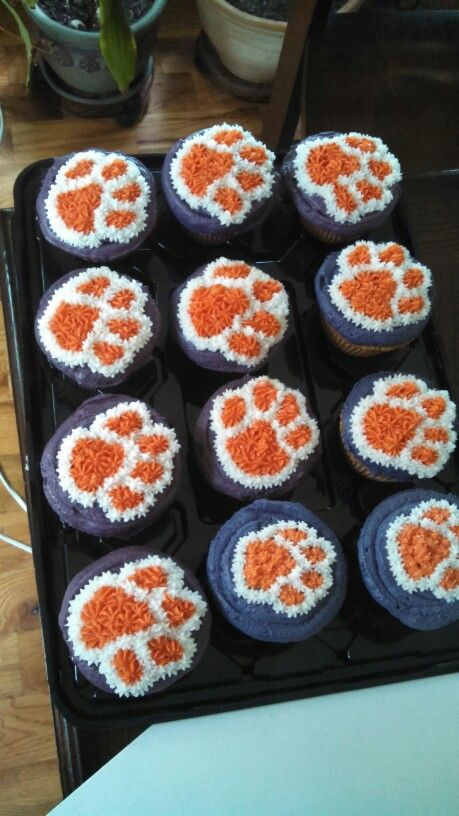 Clemson cupcakes                                                                                                                                                     More