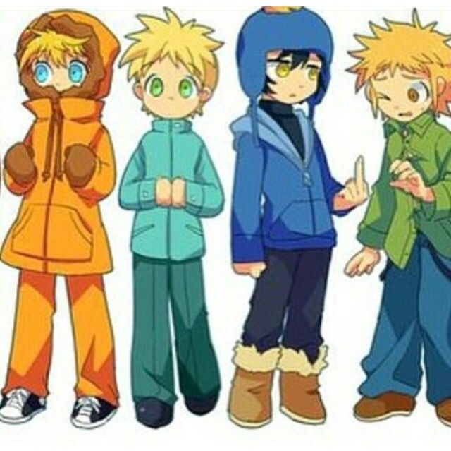 Its Like All The Outcast Characters Butters Stotch South Park