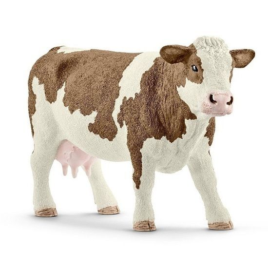 Schleich North America Simmental Cow BOUGHT BY AUNTIE TANIA & UNCLE TOMMY