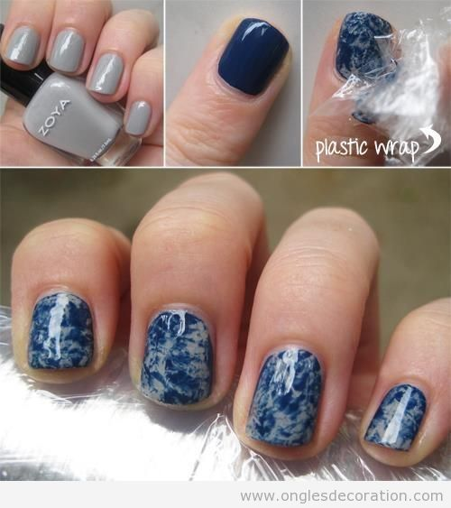 Tuto déco ongles jeans