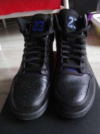 100% oryginał, Nike Air Jordan 1 Flight 4 czerń fiolet Warszawa - image 6